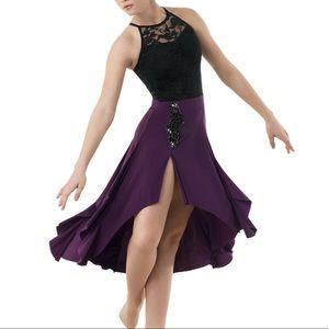*3/$50* WEISSMAN Lyrical Lace Sequin Dance Costume